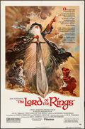 "Movie Posters:Animation, The Lord of the Rings (United Artists, 1978). One Sheet (27"" X41""). Artwork by Tom Jung. Animation.. ..."