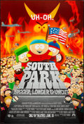 """Movie Posters:Animation, South Park: Bigger Longer & Uncut (Paramount, 1999). One Sheet(27"""" X 40"""") DS Advance. Animation.. ..."""