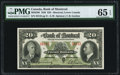 Canadian Currency, Montreal, PQ- Bank of Montreal $20 Jan. 3, 1938 Ch. # 505-62-06....