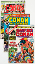 Bronze Age (1970-1979):Adventure, Conan the Barbarian Group of 38 (Marvel, 1973-77) Condition: Average VF.... (Total: 38 )