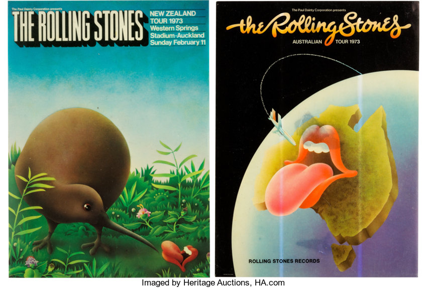 Two Rolling Stones Australian Tour and New Zealand Tour