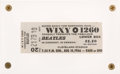 Music Memorabilia:Tickets, Beatles Cleveland Stadium Concert, August 14, 1966 Ticket ...