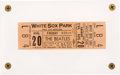Music Memorabilia:Tickets, Beatles White Sox Park, Chicago, August 20, 1965 Upper Deck ConcertTicket....