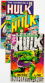 The Incredible Hulk Group of 28 (Marvel, 1968-76) Condition: Average VG.... (Total: 28 )