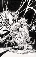 Original Comic Art:Covers, Kevin Nowlan Doctor Strange #19 Cover Original Art (Marvel,2017)....
