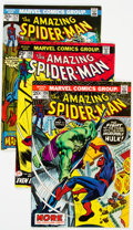 Bronze Age (1970-1979):Superhero, The Amazing Spider-Man Group of 42 (Marvel, 1972-80) Condition:Average VF.... (Total: 42 Comic Books)