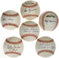 Autographs:Baseballs, 1964-67 St. Louis Cardinals Players Single Signed Baseballs Lot of17. Single signed balls are all on either ONL or OML sph...