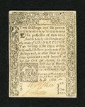 Colonial Notes:Connecticut, Connecticut July 1, 1780 2s/6d New. This bright and attractive notehas been cut cancelled. New....