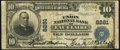 National Bank Notes, Eau Claire, WI - $10 1902 Plain Back Fr. 625 The Union NB Ch. #8281 Very Good-Fine.. ...