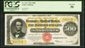 Fr. 1217 $500 1922 Gold Certificate PCGS Very Fine 30