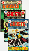 Bronze Age (1970-1979):Horror, Ghosts Group of 33 (DC, 1972-75) Condition: Average VF+.