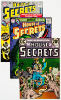 Silver Age (1956-1969):Horror, House of Secrets Group of 22 (DC, 1965-75) Condition: AverageFN/VF.... (Total: 22 Comic Books)