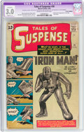 Silver Age (1956-1969):Superhero, Tales of Suspense #39 (Marvel, 1963) CGC Apparent GD/VG 3.0 Slight (C-1) Cream to off-white pages....