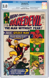 Daredevil #1 (Marvel, 1964) CGC GD/VG 3.0 Off-white to white pages