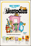 """Movie Posters:Animation, The Aristocats & Other Lot (Buena Vista, R-1980). Posters (2) (40"""" X 60"""") Paul Wenzel Artwork. Animation.. ... (Total: 2 Items)"""