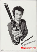 """Movie Posters:Action, Magnum Force (Warner Brothers, 1973). Folded, Very Fine-. Promotional Poster (19.75"""" X 28""""). Action.. ..."""