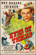 "Movie Posters:Western, Eyes of Texas (Republic, 1948). One Sheet (27"" X 41""). Western.. ..."