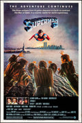 """Movie Posters:Action, Superman II (Warner Brothers, 1981). Poster (40"""" X 60""""). Action.. ..."""