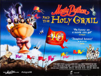 """Monty Python and the Holy Grail (Sony, R-2014). British Quad (30"""" X 40"""") SS. Comedy"""