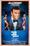 "Movie Posters:James Bond, Never Say Never Again (Warner Brothers, 1983). Poster (40"" X 60"") Rudy Obrero Artwork. James Bond.. ..."