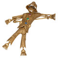 Estate Jewelry:Brooches - Pins, Multi-Stone, Gold Brooch, F&F Felger. ...