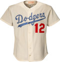 Baseball Collectibles:Uniforms, Late 1970's Dusty Baker Game Worn Los Angeles Dodgers Jersey. ...