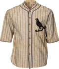 Baseball Collectibles:Uniforms, 1920's Vintage Game Worn Baseball Flannel Jersey....
