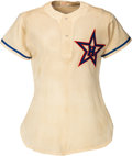 """Baseball Collectibles:Uniforms, Circa 1950 Fred Haney Hollywood Stars Game Worn Durene """"Summer Weight"""" Jersey with Shorts. ..."""