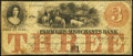 Obsoletes By State:Iowa, Ashland, IA- Farmers and Merchants Bank $3 Oct. 26, 1857. ...