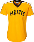 Baseball Collectibles:Uniforms, Circa 1982 Dale Berra Batting Practice Worn Pittsburgh Pirates Jersey from The Joseph O'Toole Collection. ...