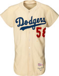 Baseball Collectibles:Uniforms, 1960 Joe Pignatano Game Worn Los Angeles Dodgers Jersey....