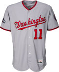 Baseball Collectibles:Uniforms, 2016 Ryan Zimmerman Game Worn Washington Nationals Jersey - PhotoMatched. ...