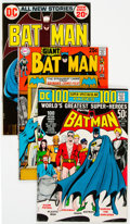 Bronze Age (1970-1979):Superhero, Batman Group of 39 (DC, 1970-89) Condition: Average VF.... (Total:39 Comic Books)