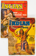 Pulps:Western, Indian Stories #2 and 3 Group (Fiction House, 1950).... (Total: 2 Items)