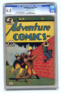 Golden Age (1938-1955):Superhero, Adventure Comics #56 (DC, 1940) CGC FN+ 6.5 Cream to off-white pages.