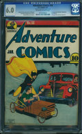 Golden Age (1938-1955):Superhero, Adventure Comics #58 - FROM THE COLLECTION OF RUBEN BLADES (DC, 1941) CGC FN 6.0 Off-white to white pages.