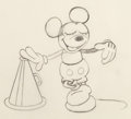 Animation Art:Production Drawing, Around the World in 80 Minutes Mickey Mouse AnimationDrawing (Walt Disney/United Artists, 1931)....