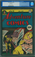 Golden Age (1938-1955):Superhero, Adventure Comics #99 (DC, 1945) CGC VF+ 8.5 Off-white to whitepages.