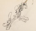 Animation Art:Production Drawing, Two-Gun Mickey Mickey Mouse Animation Drawing (Walt Disney,1934). ...