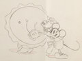 Animation Art:Production Drawing, The Whoopee Party Mickey Mouse Animation Drawing (WaltDisney, 1932). ...