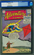 Silver Age (1956-1969):Superhero, Adventure Comics #296 (DC, 1962) CGC NM- 9.2 Off-white to whitepages.