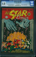 Golden Age (1938-1955):Superhero, All Star Comics #23 (DC, 1944) CGC VF/NM 9.0 Off-white pages.