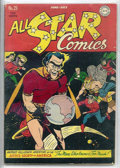 Golden Age (1938-1955):Superhero, All Star Comics #29 (DC, 1946) CGC VF- 7.5 Off-white to whitepages.