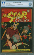 All Star Comics #29 - CBCS CERTIFIED (DC, 1946) CGC VF- 7.5 Cream to off-white pages