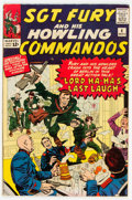 Silver Age (1956-1969):War, Sgt. Fury and His Howling Commandos #4 (Marvel, 1963) Condition: VF....