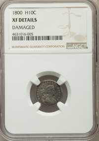 1800 H10C -- Damaged -- NGC Details. XF. NGC Census: (10/94). PCGS Population: (21/146). CDN: $4,300 Whsle. Bid for prob...