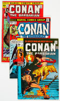 Bronze Age (1970-1979):Adventure, Conan the Barbarian Group of 10 (Marvel, 1971-73) Condition: Average VF.... (Total: 10 )