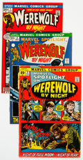Bronze Age (1970-1979):Horror, Werewolf by Night Related Group (Marvel, 1972-75) Condition:Average VG/FN.... (Total: 9 )
