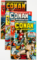 Bronze Age (1970-1979):Adventure, Conan the Barbarian Group of 21 (Marvel, 1970-73) Condition: Average FN/VF.... (Total: 21 )