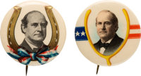 """William Jennings Bryan: """"Lucky"""" Picture Pins"""